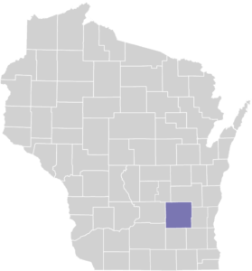 Dodge County on Map