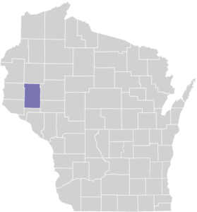 Dunn County on Map