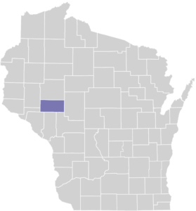 Eau Claire County on Map