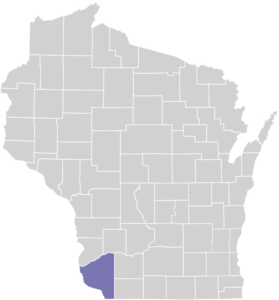 Grant County on Map