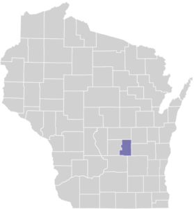 Green Lake County on map