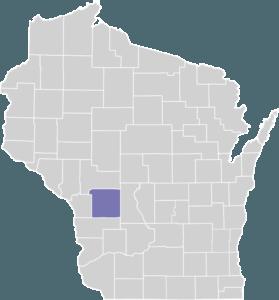 Monroe County on Map