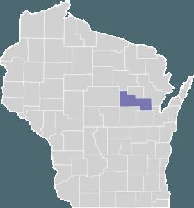 Shawano County on Map