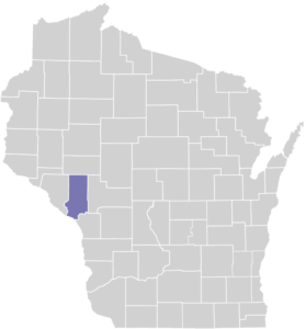 Trempealeau County on Map