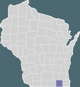 Walworth County on map